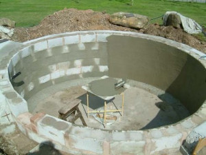 Chembond products ltd examples of fibres used in for Concrete pond construction